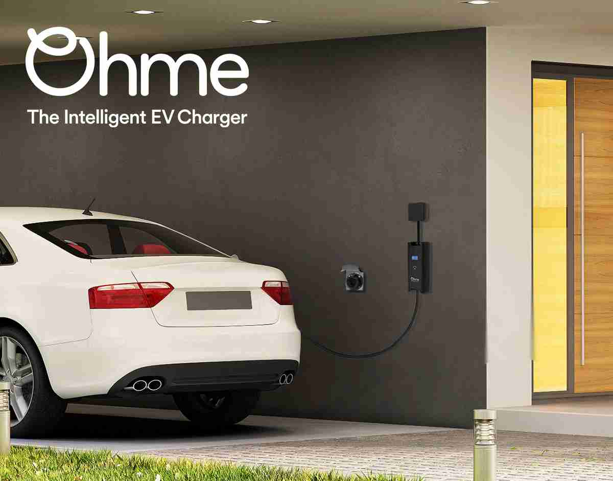 ohme electric vehicle charger lifestyle