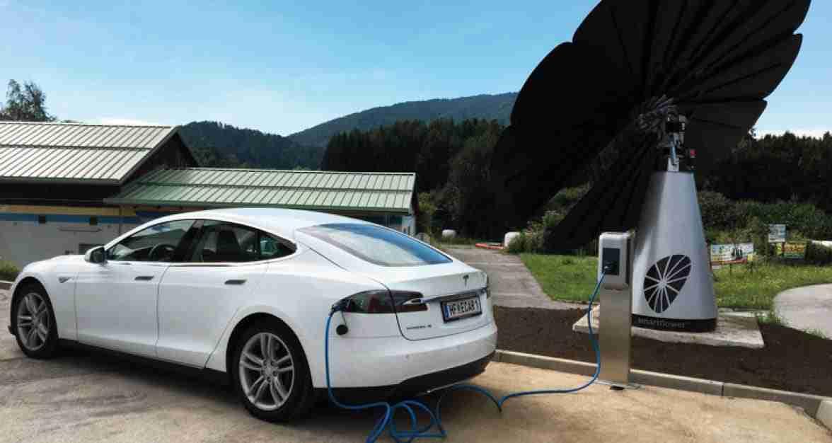 Smartflower Car Ev Charging